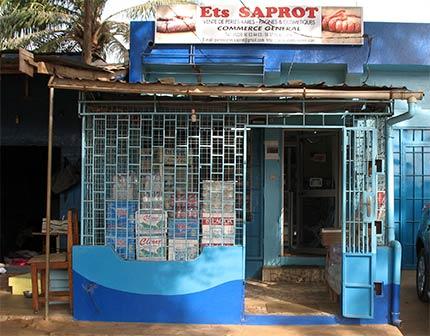 Boutique SAPROT à Lomé